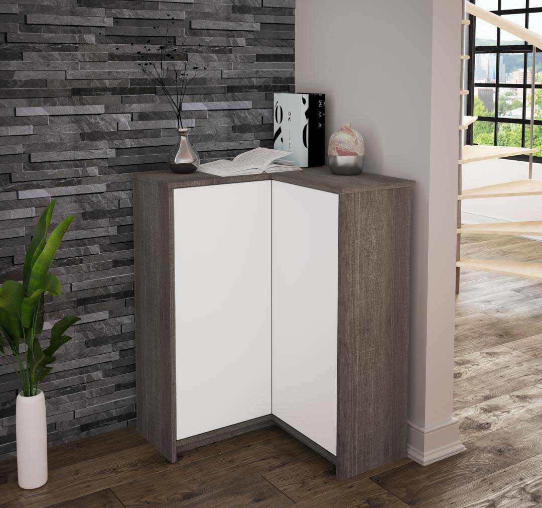Bestar corner storage cabinet