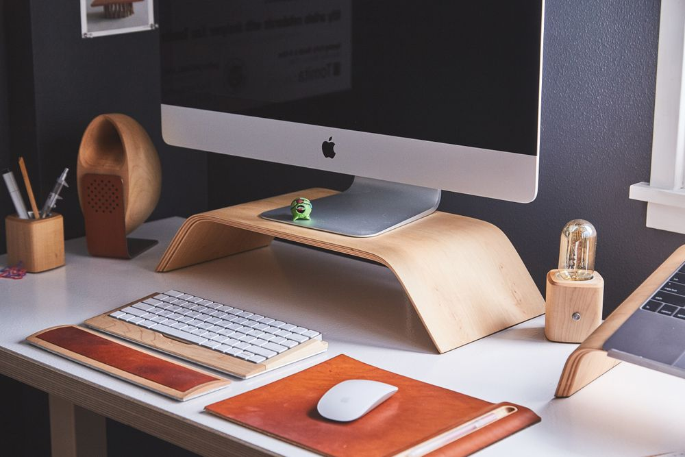 Good desk layout