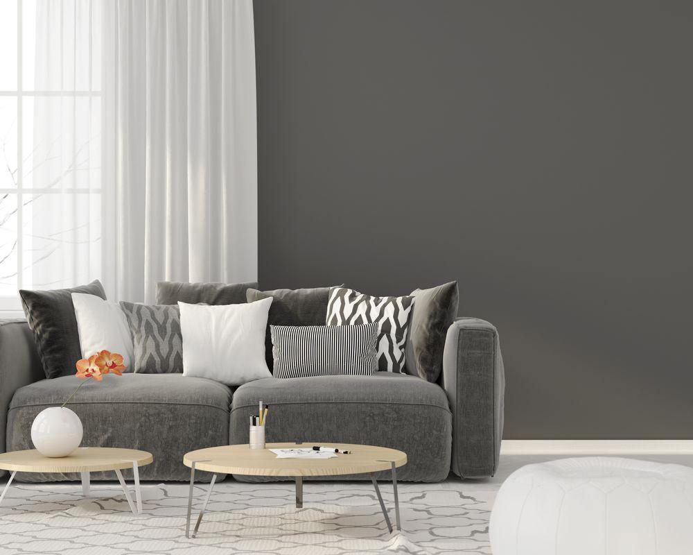 Grey living room