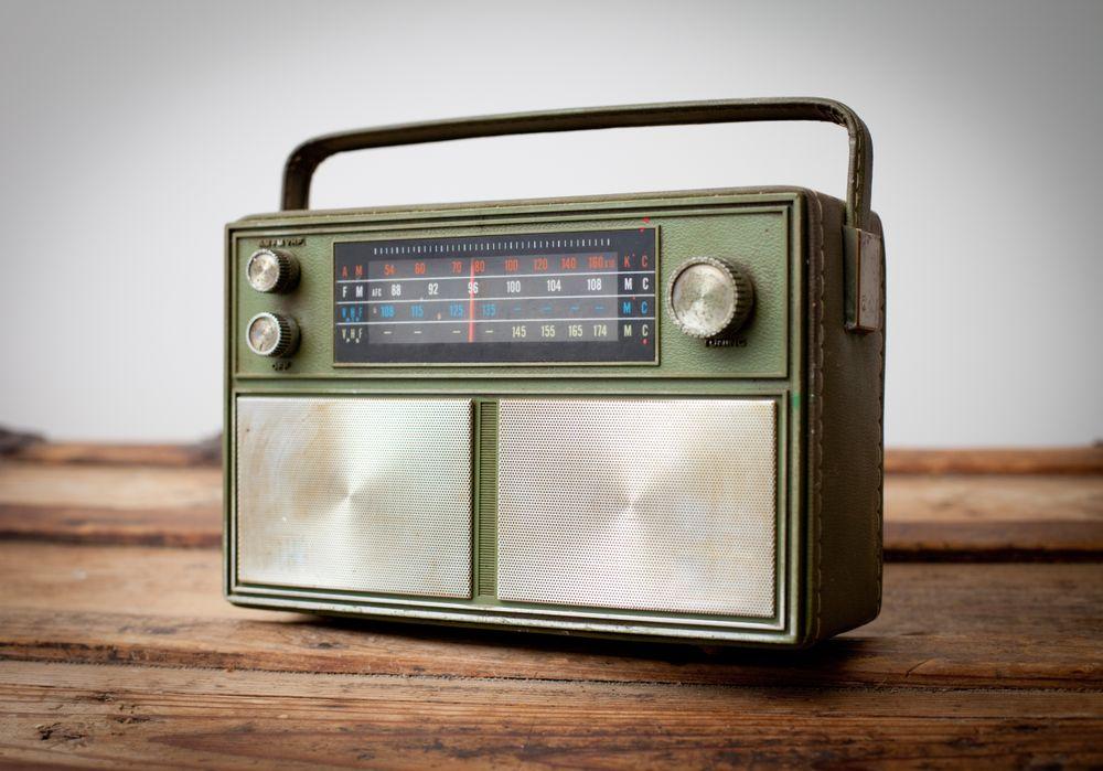 Jobsite radio for entertainment