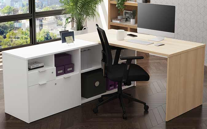 Bestar L-Shaped desk
