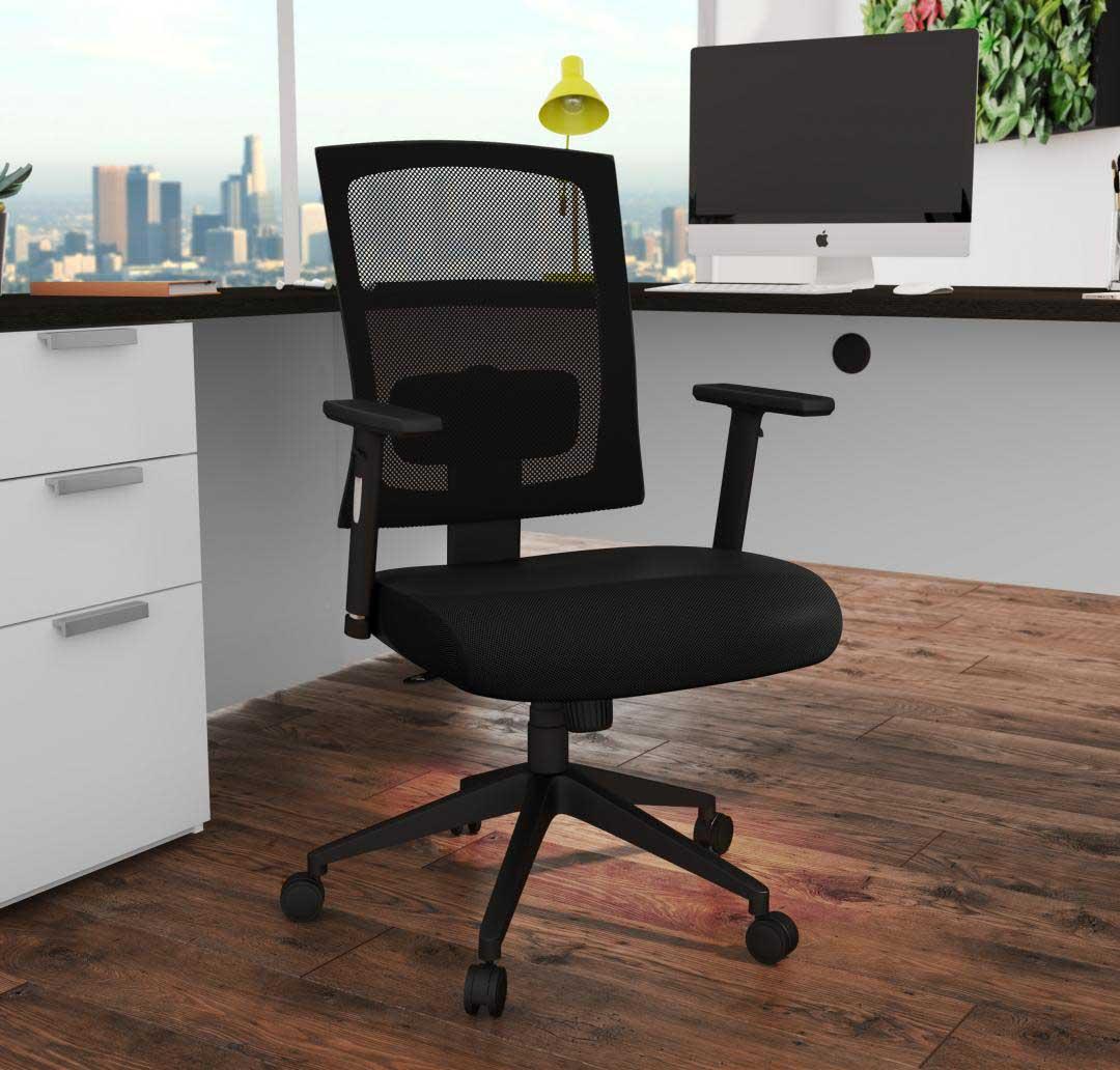 Bestar desk with Taskmaster Office Chair