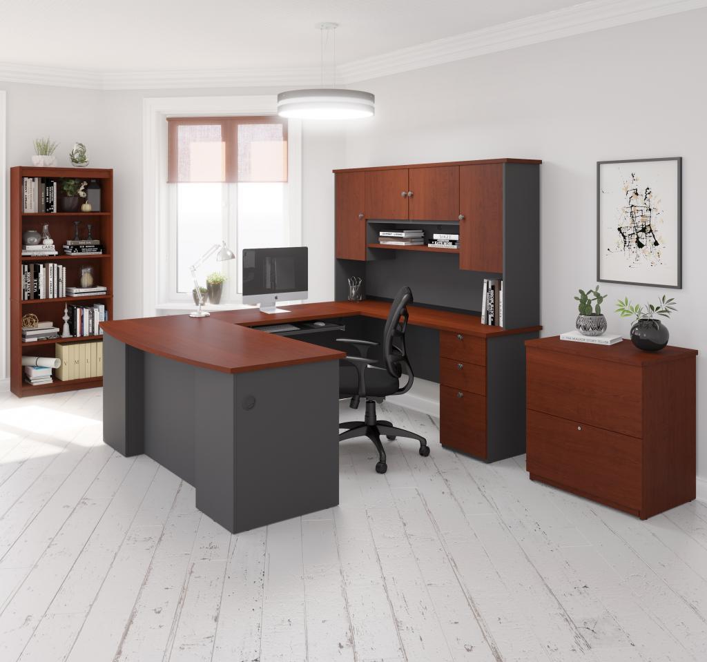 Bestar u-shaped desk