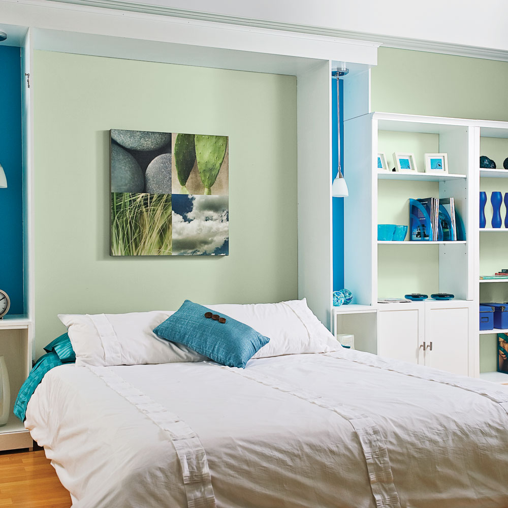 do-it-yourself wall bed