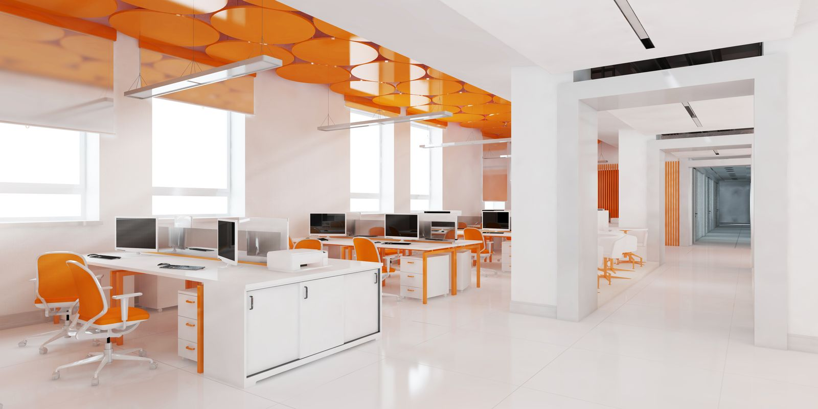 Color psychology at the office