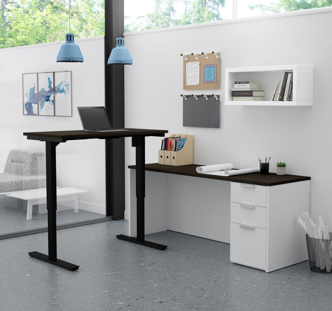 Adjustable furnishings at the office