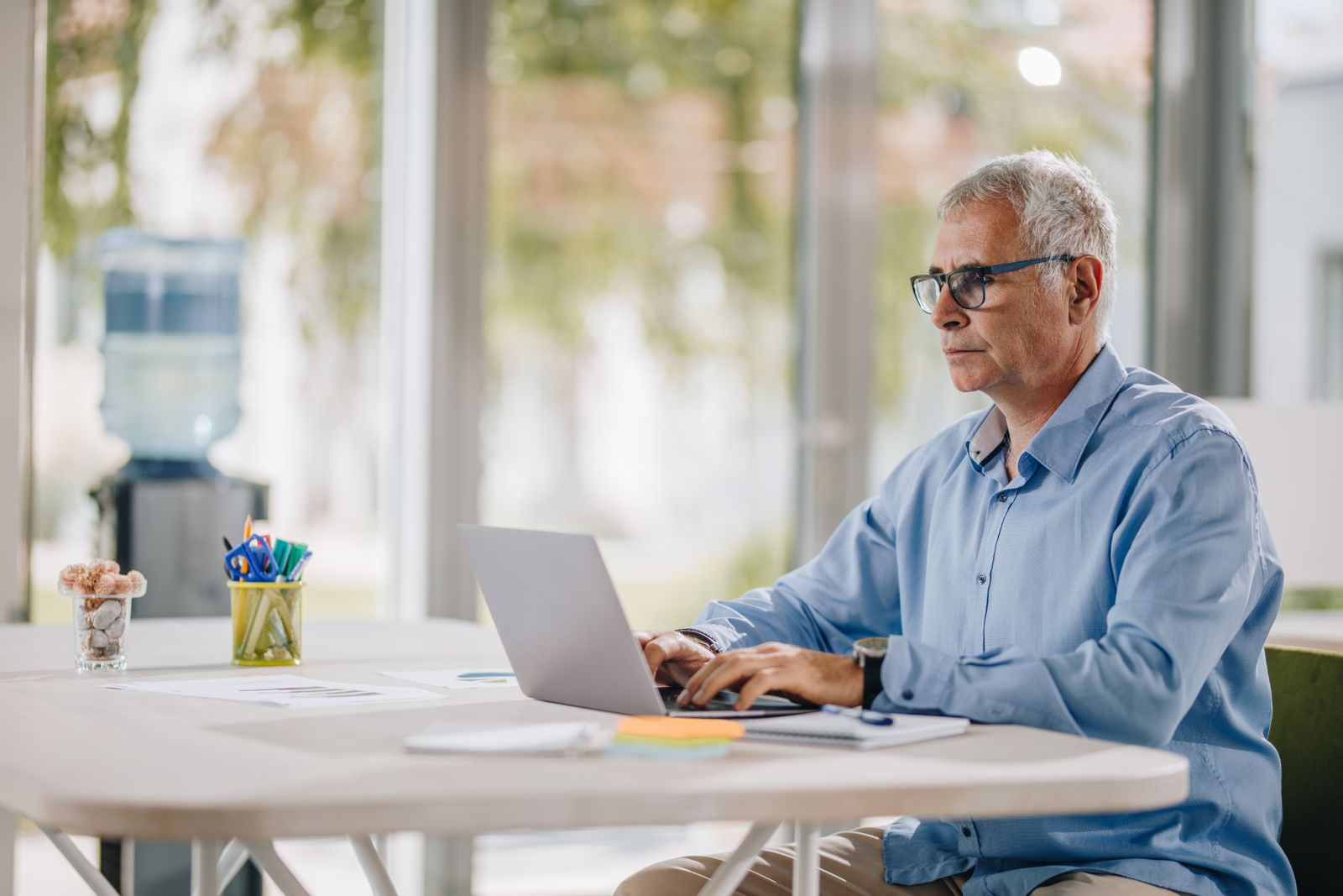 Boomers working from home