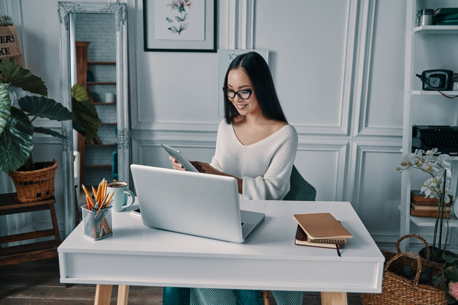 Increasing productivity with teleworking