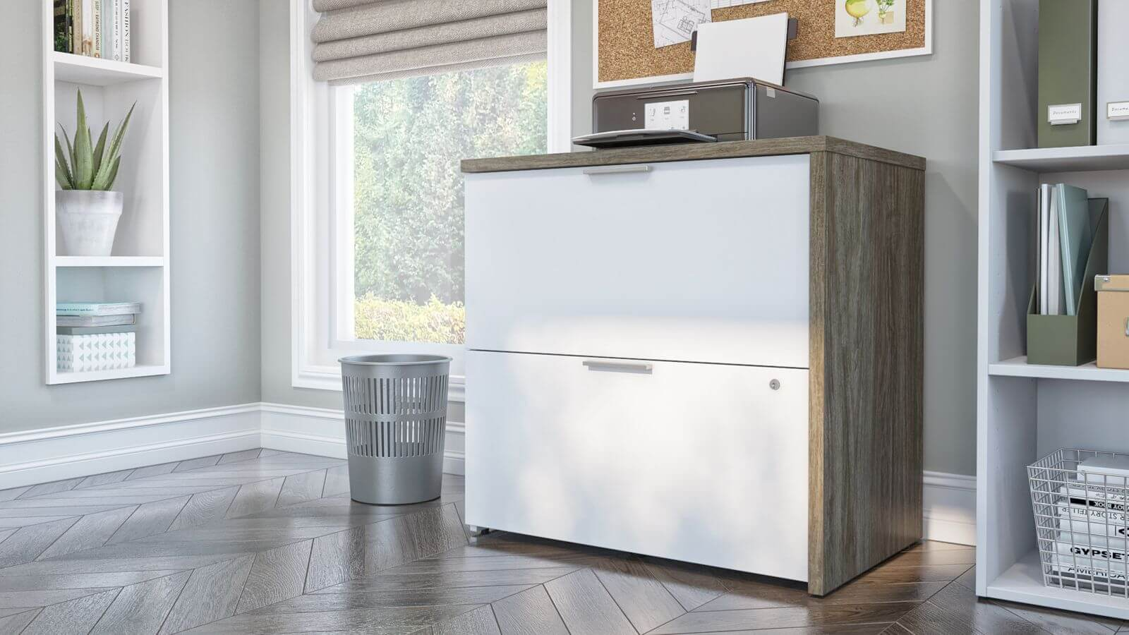 Bestar lateral file cabinet