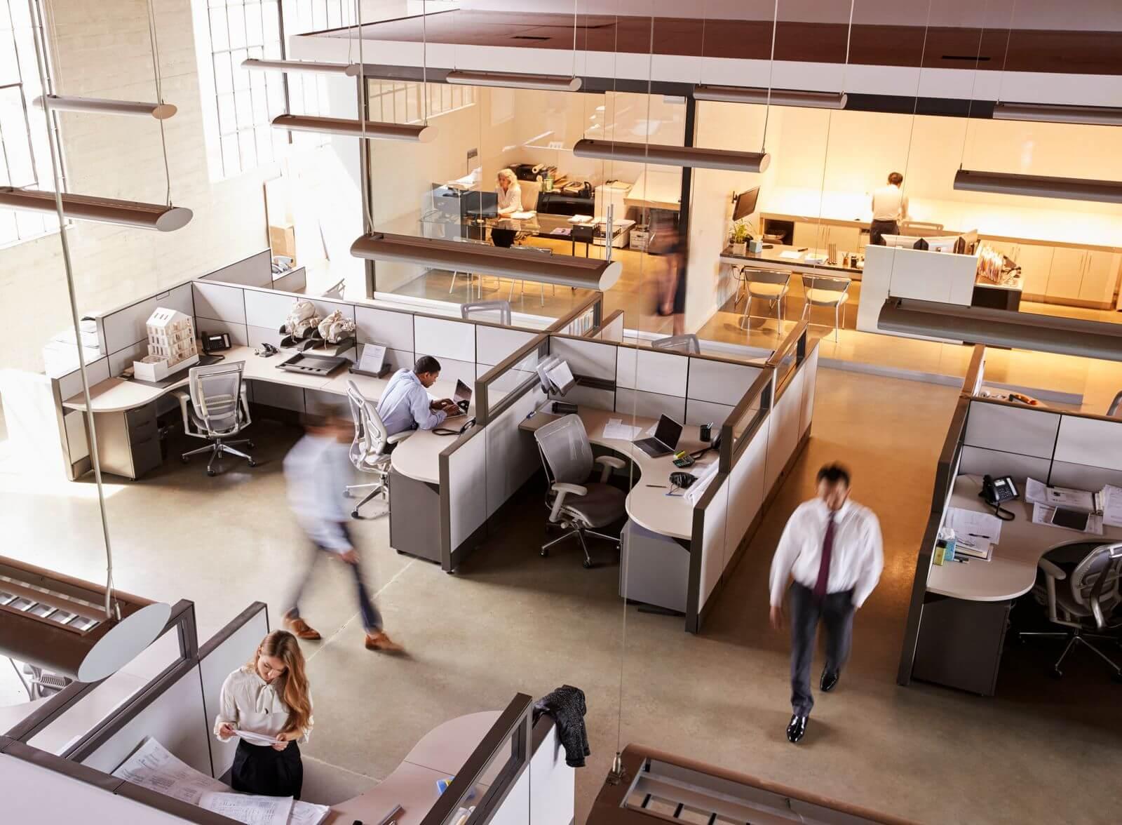Office cubicle desks