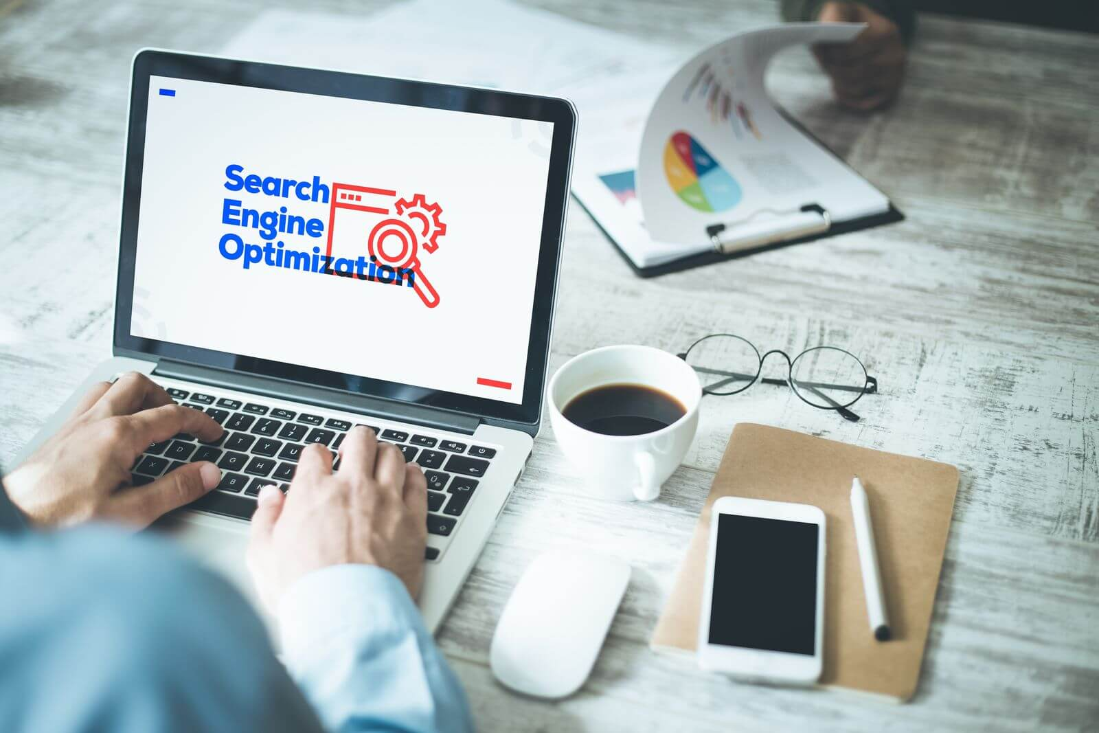 Search engine optimization for digital marketing