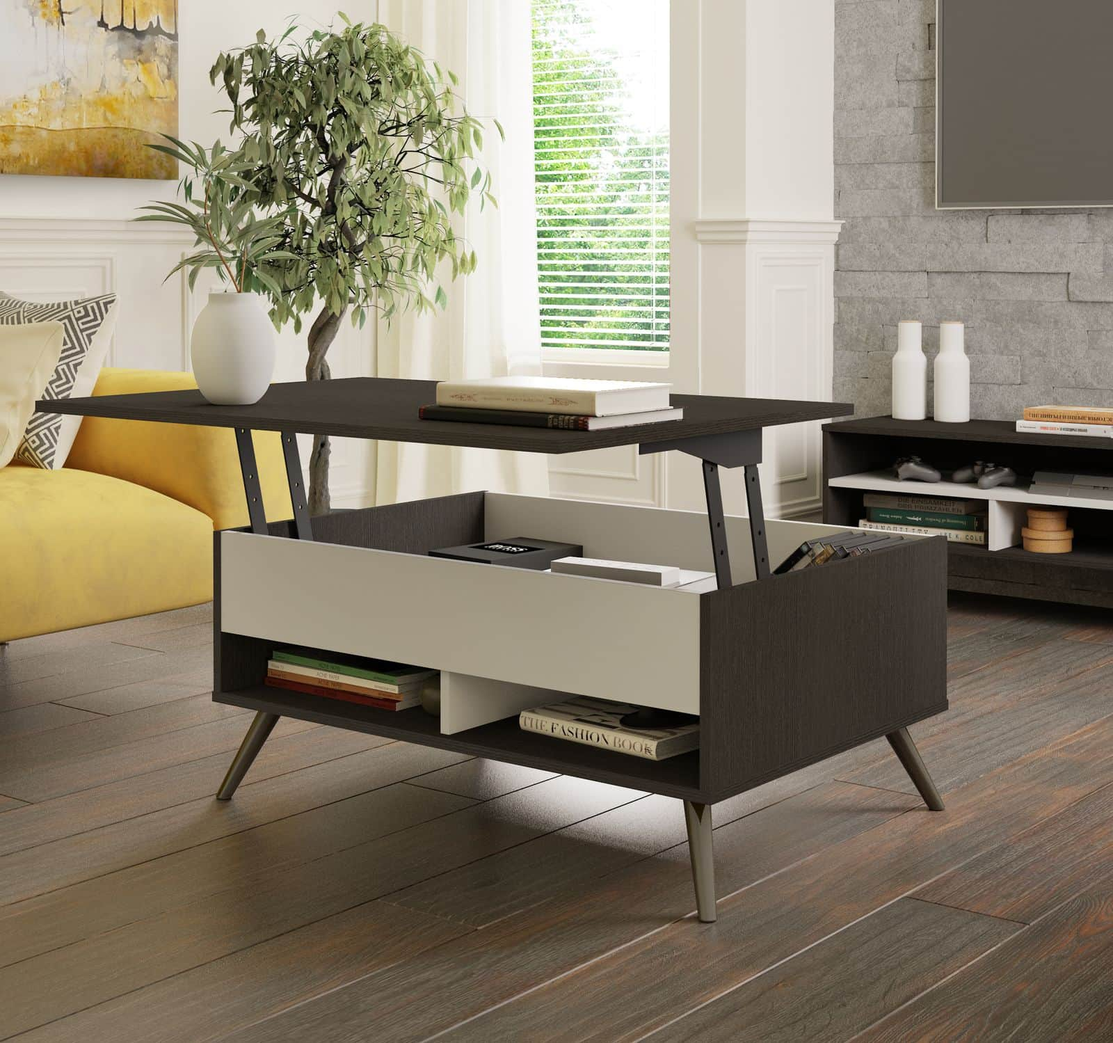 Bestar lift-top coffee table