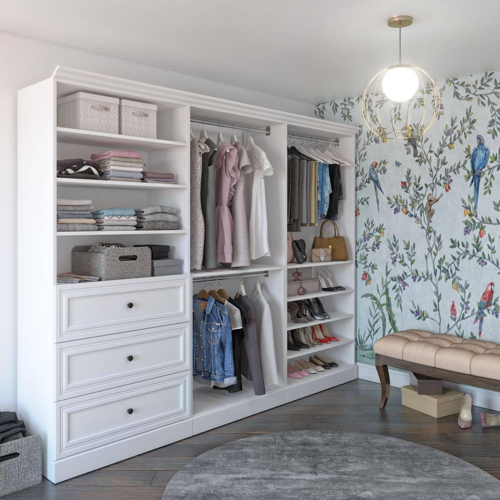 Bestar closet organizer