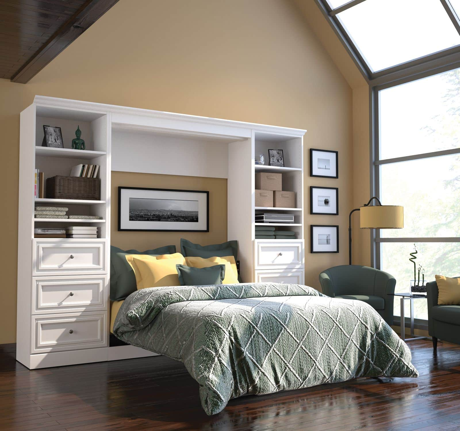 Bestar open Murphy Bed