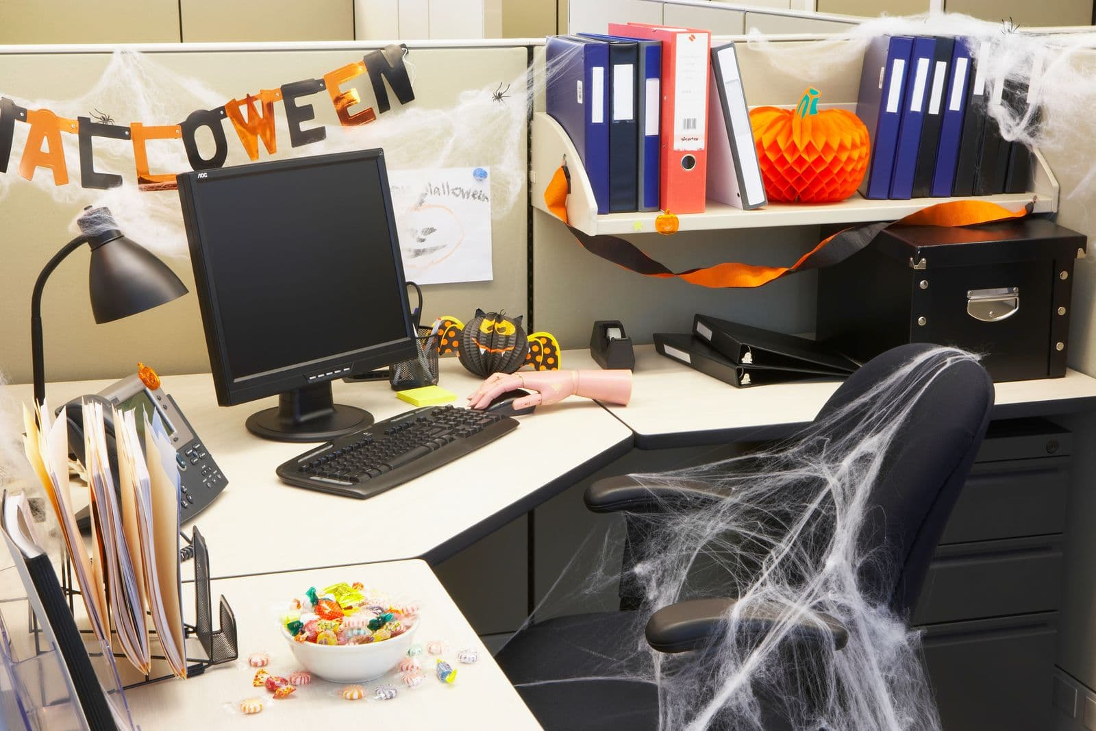 Time to Play – Fun, Creative, and Stylish Halloween Decorating Ideas for the Office