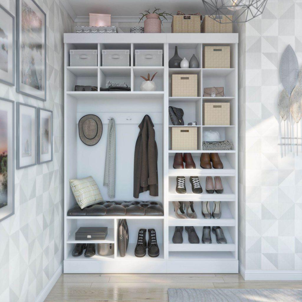 Bestar white Closet Organizer