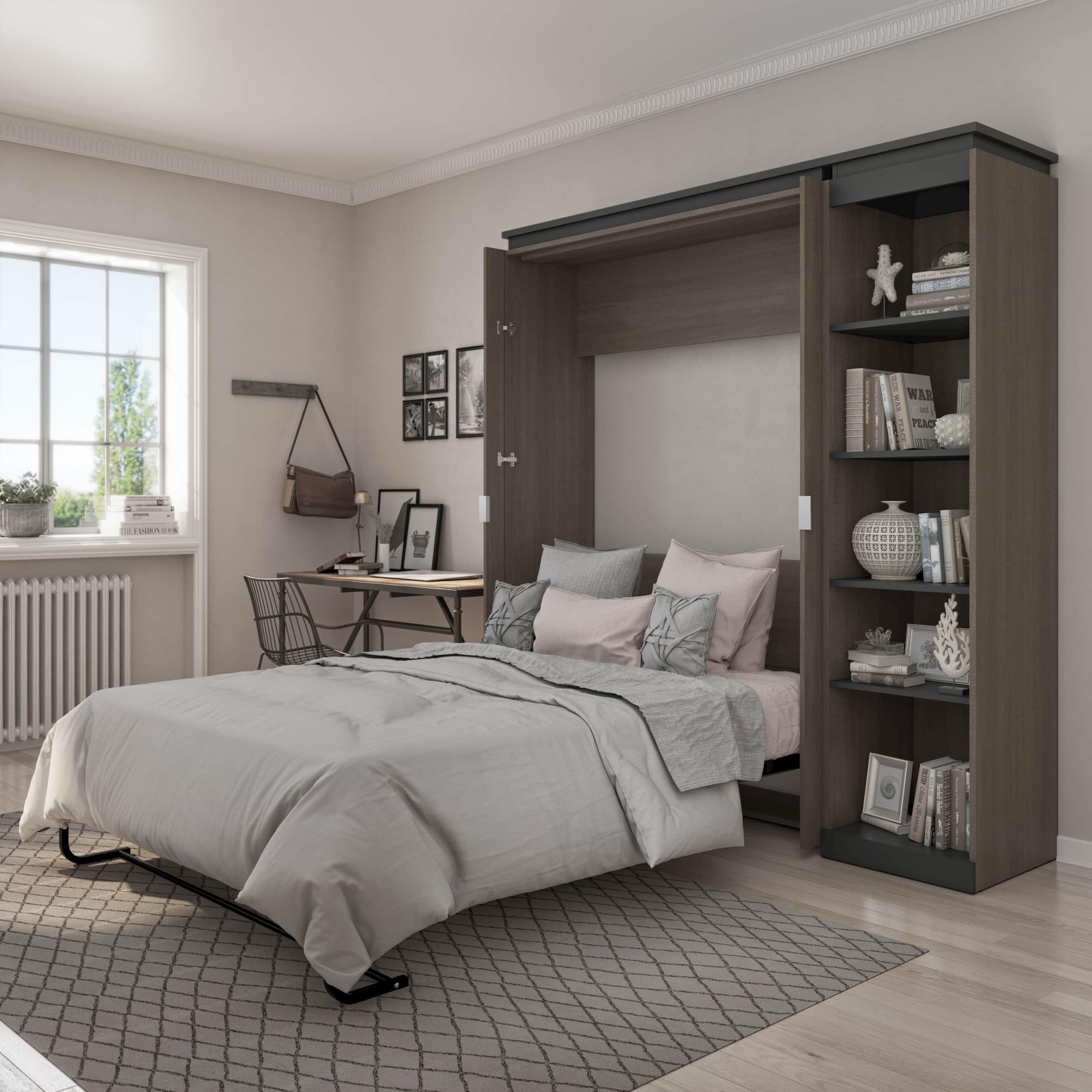 multipurpose room with a Bestar murphy bed