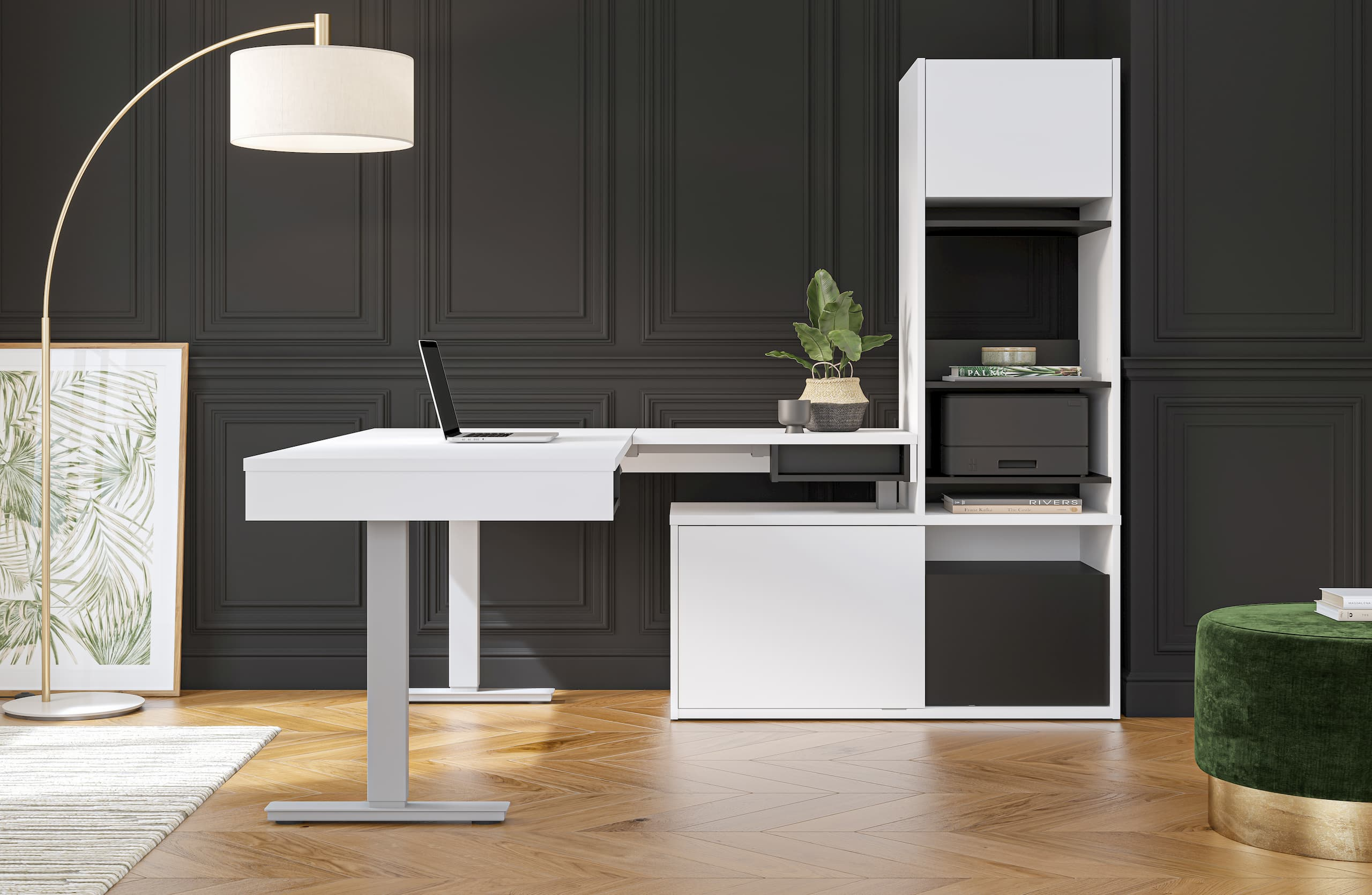 Bestar contemporary home office furniture