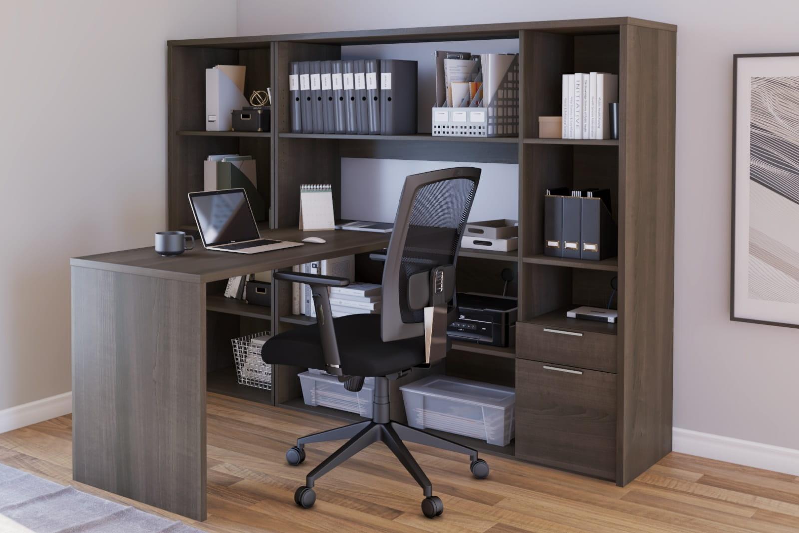 Bestar Desk with Storage