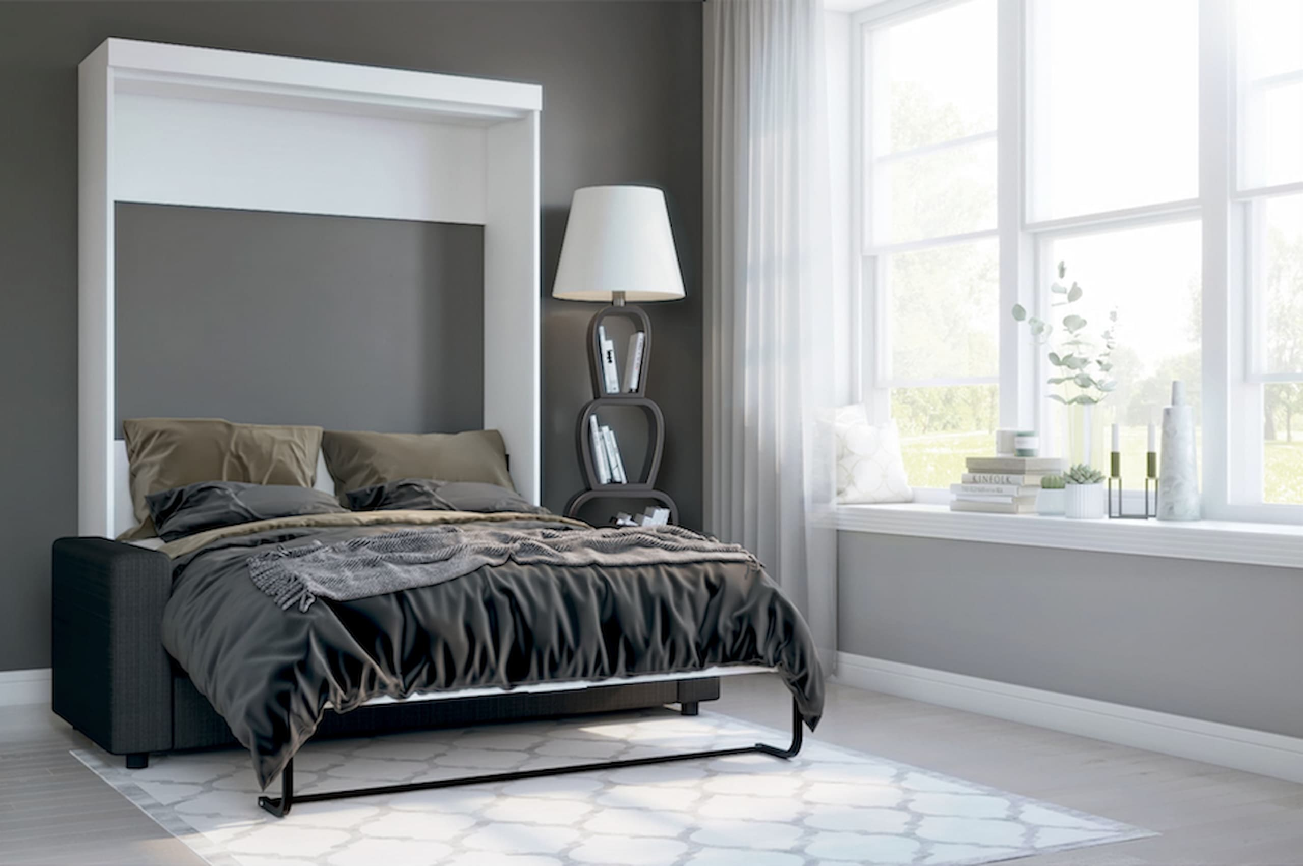 best murphy bed small room