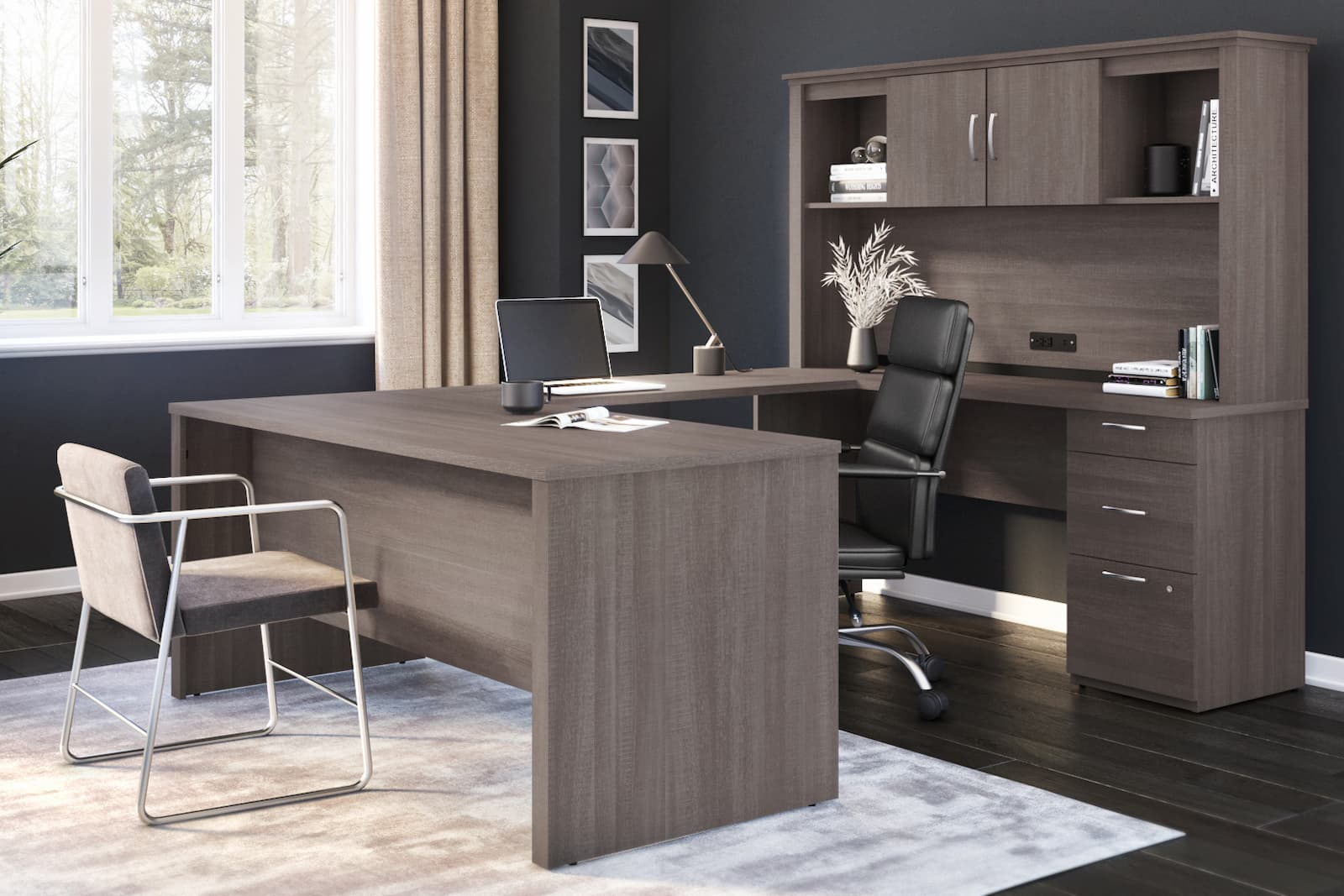 Thinking About Elevating Your Workspace? Discover Our U Shaped Executive Desks!