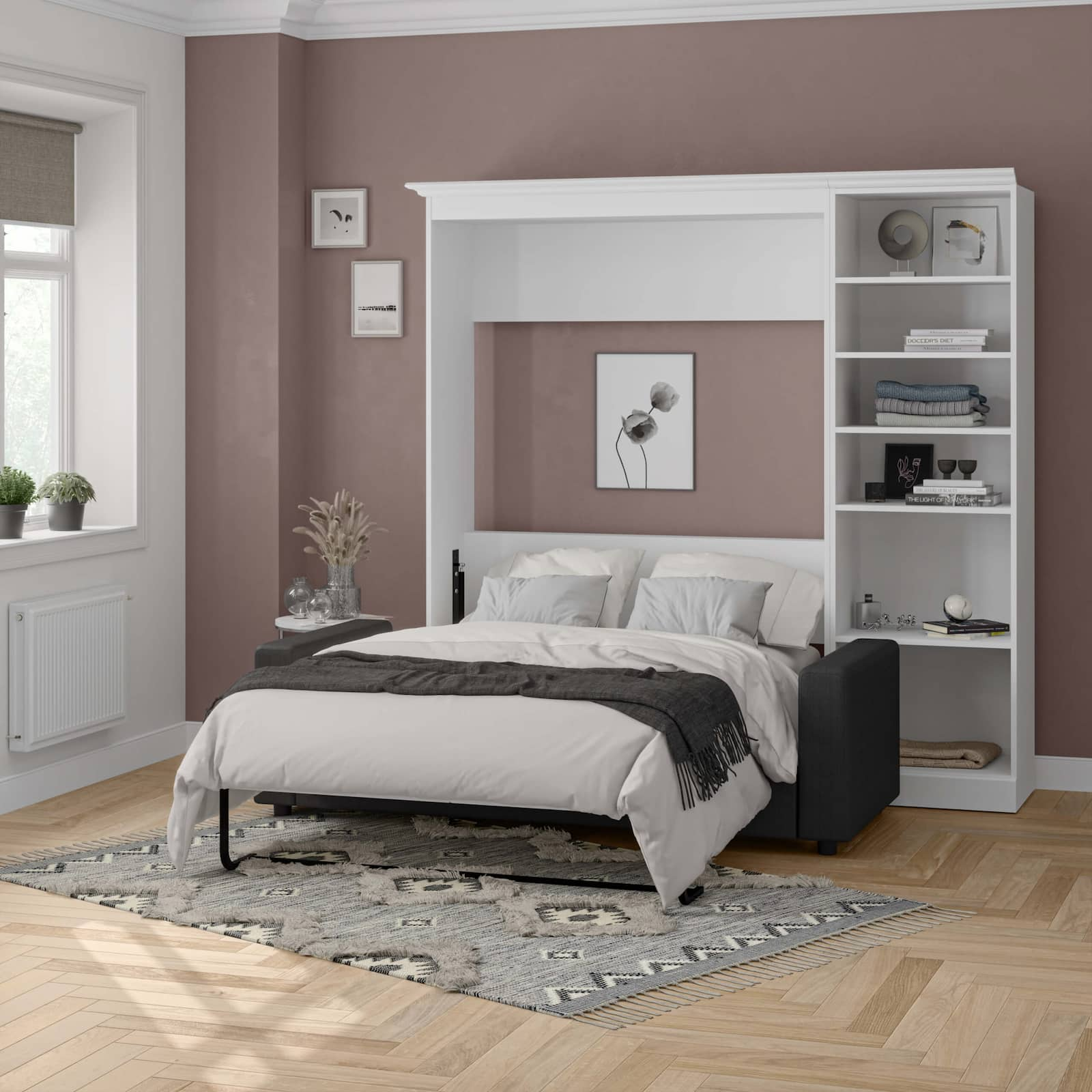 white sofa murphy bed with labor day deals