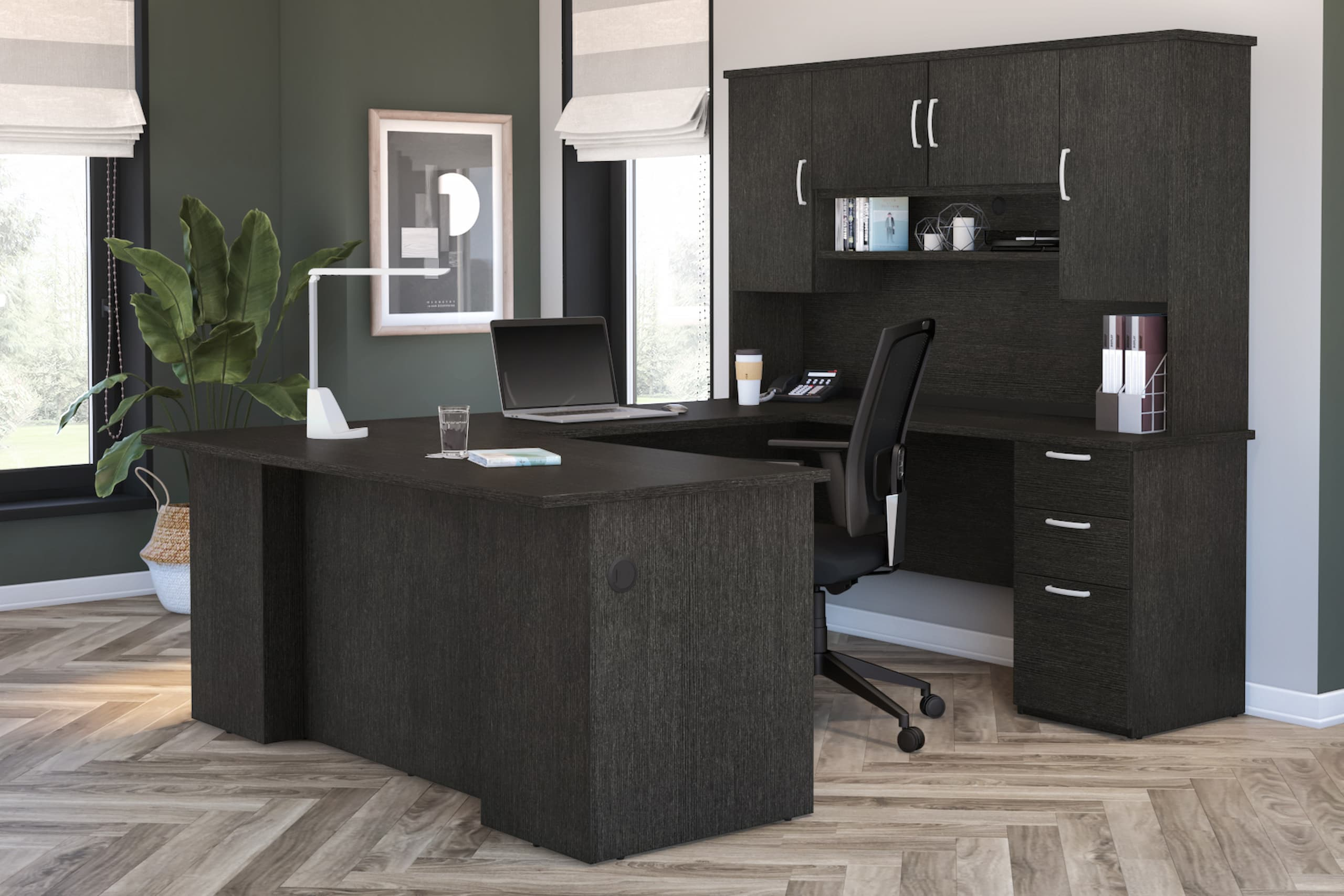 How a U Shaped Office Desk Can Be an Asset to Your Productivity—And Your Workspace!