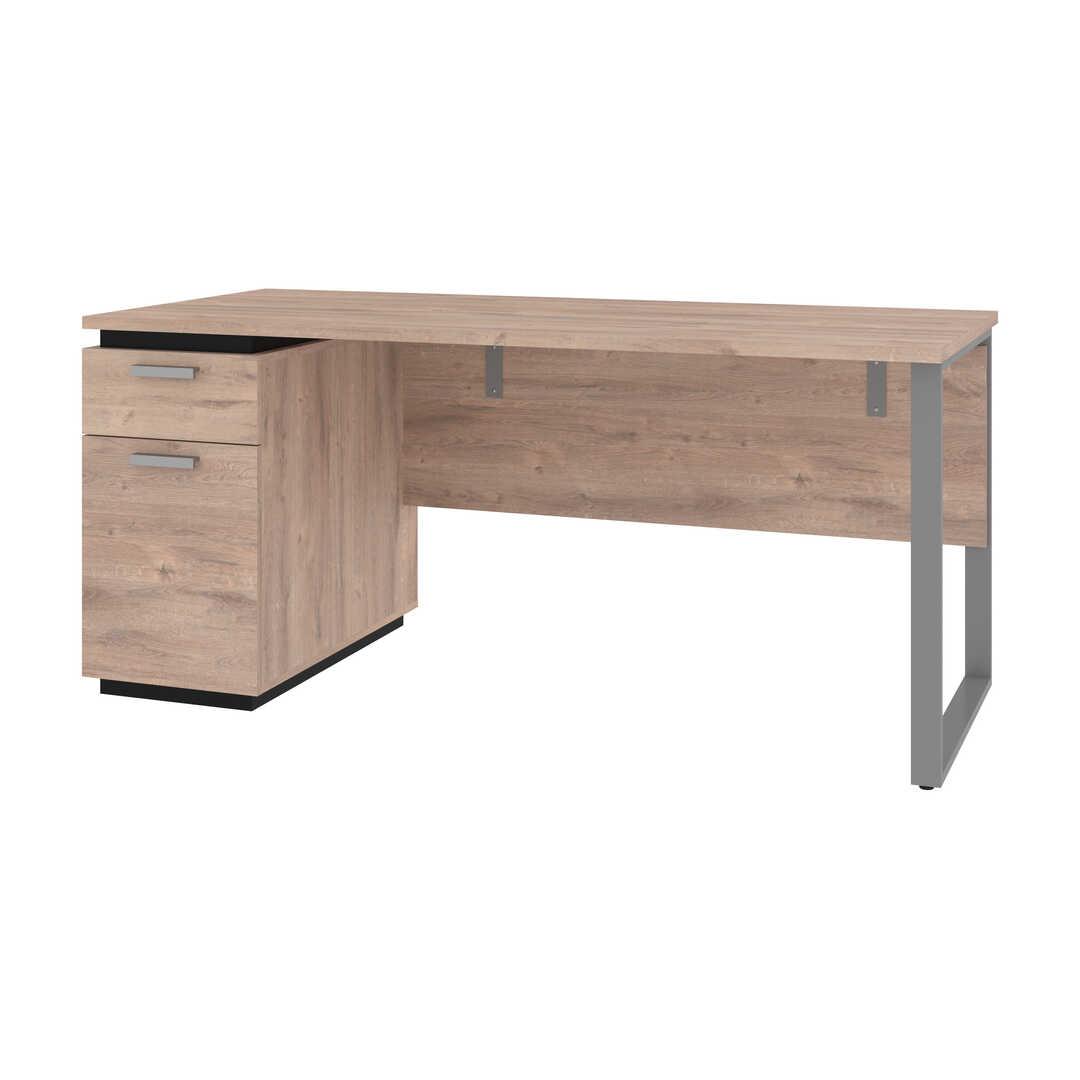 Desk with Single Pedestal