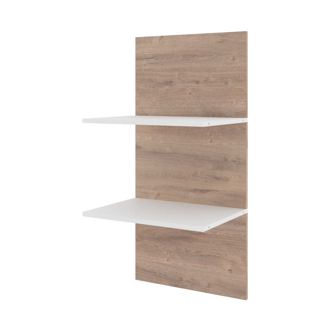 Set of 19.5W Floating Shelves for Cielo Murphy Bed