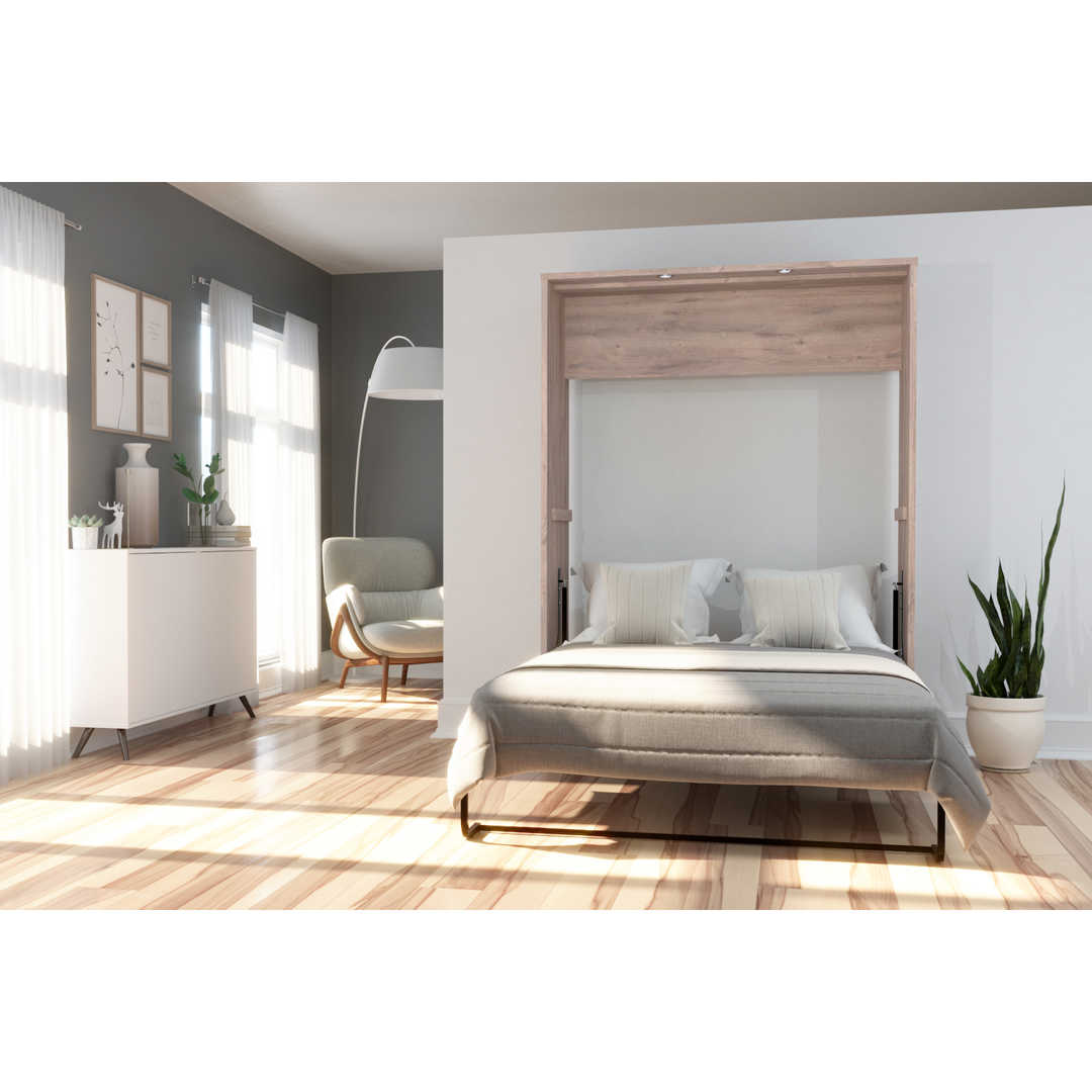 Rustic Brown & White