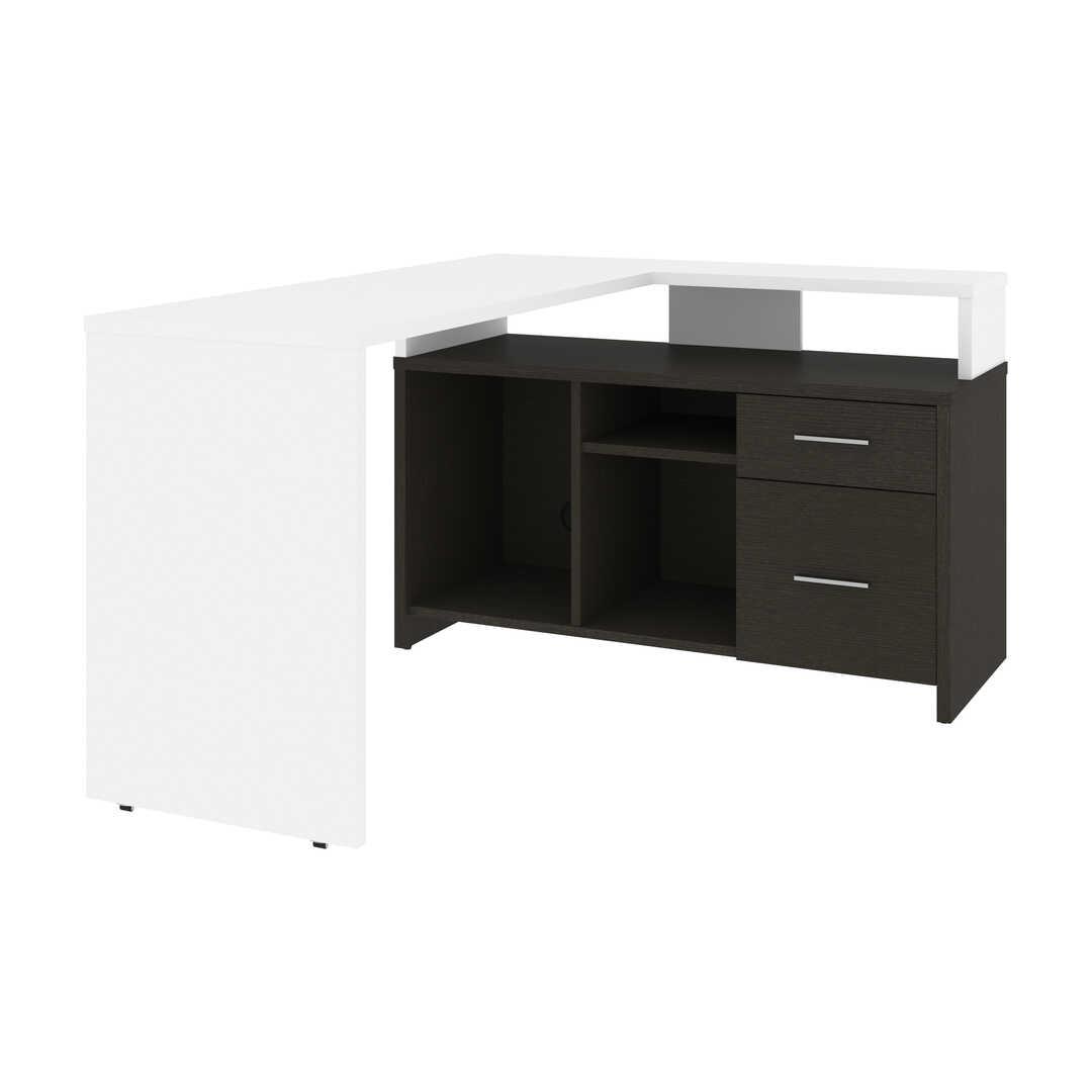 56W L-Shaped Desk