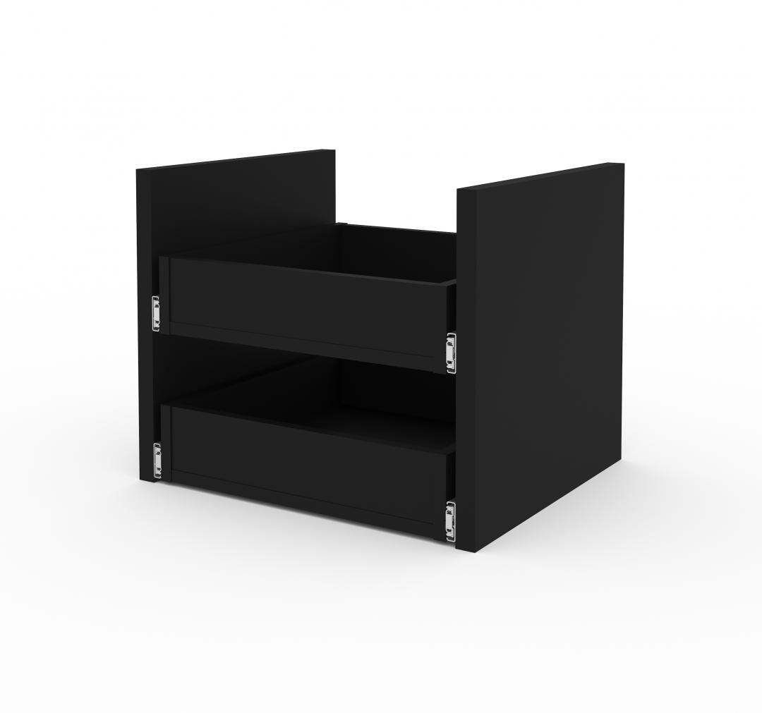 2 Drawer Set for Lincoln 21W Stackable Storage Cabinet