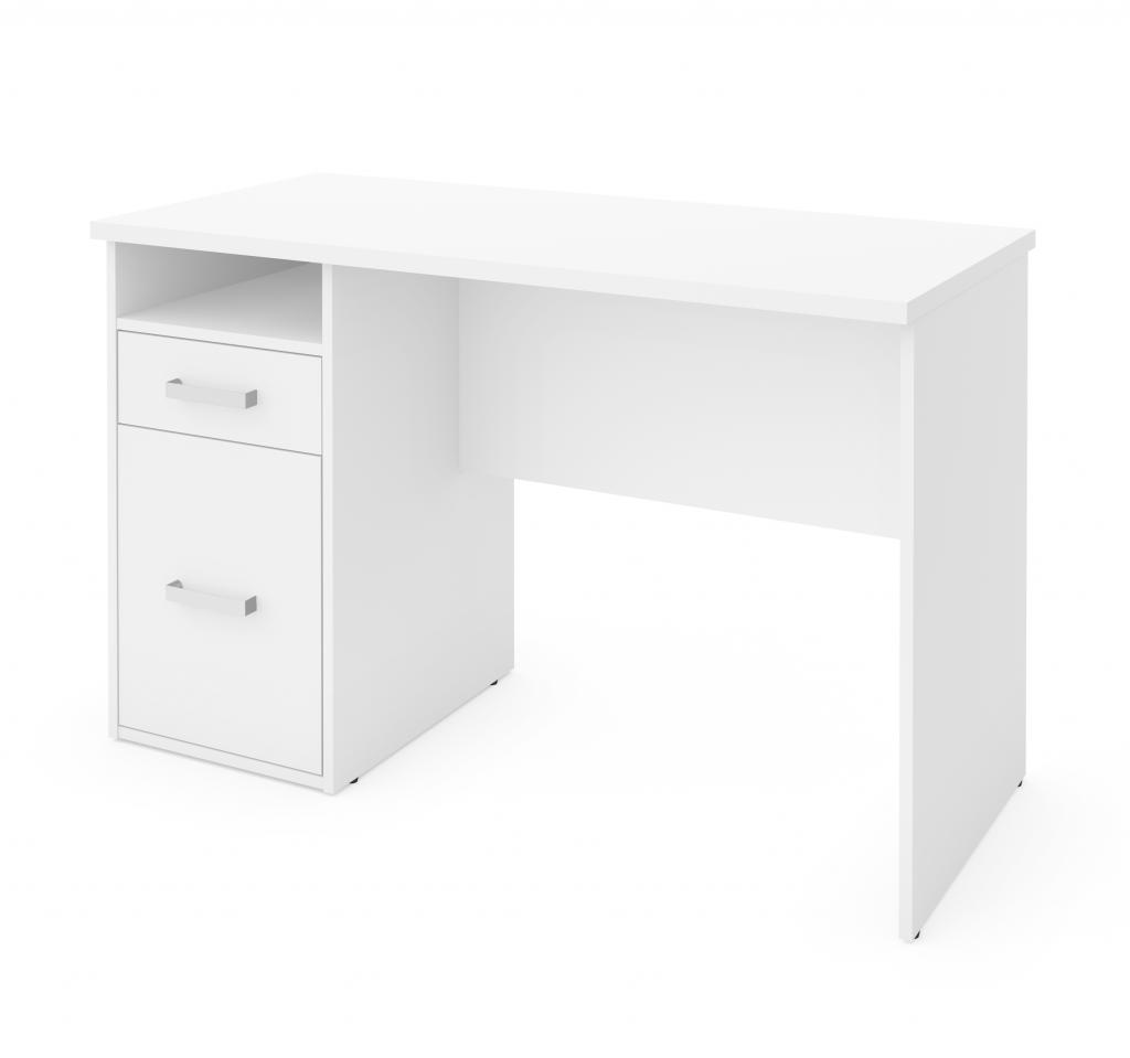 Small Desk with Pedestal