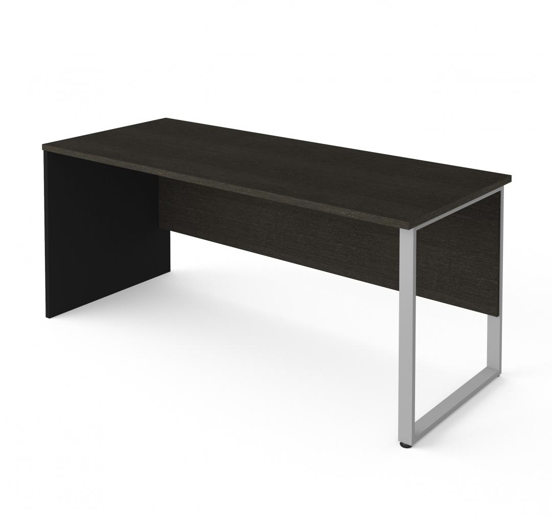 Table Desk with Rectangular Metal Leg