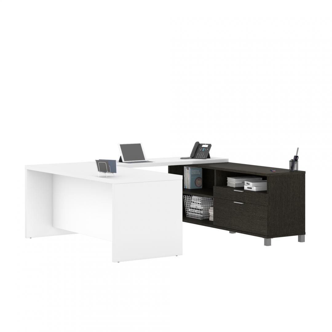 72W U-Shaped Executive Desk