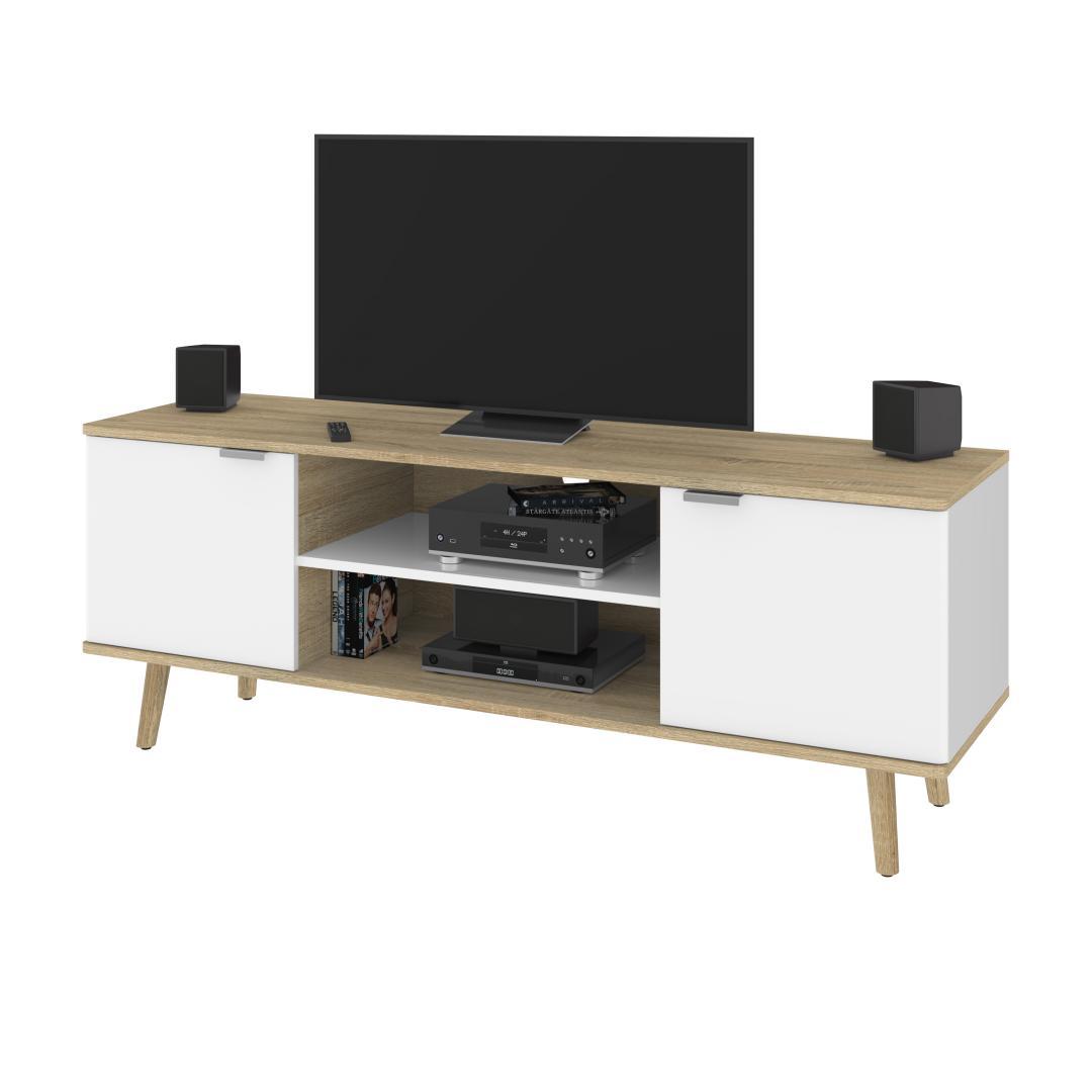 Modern Oak & White UV