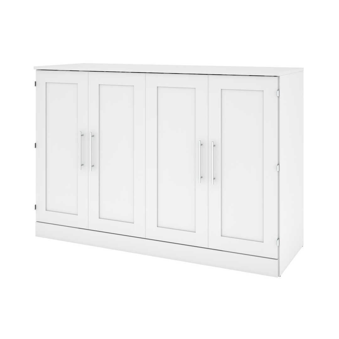 66W Queen Cabinet Bed with Mattress