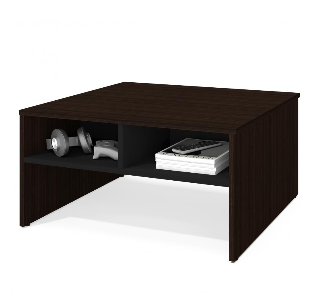 """29.5"""" Coffee table with storage"""
