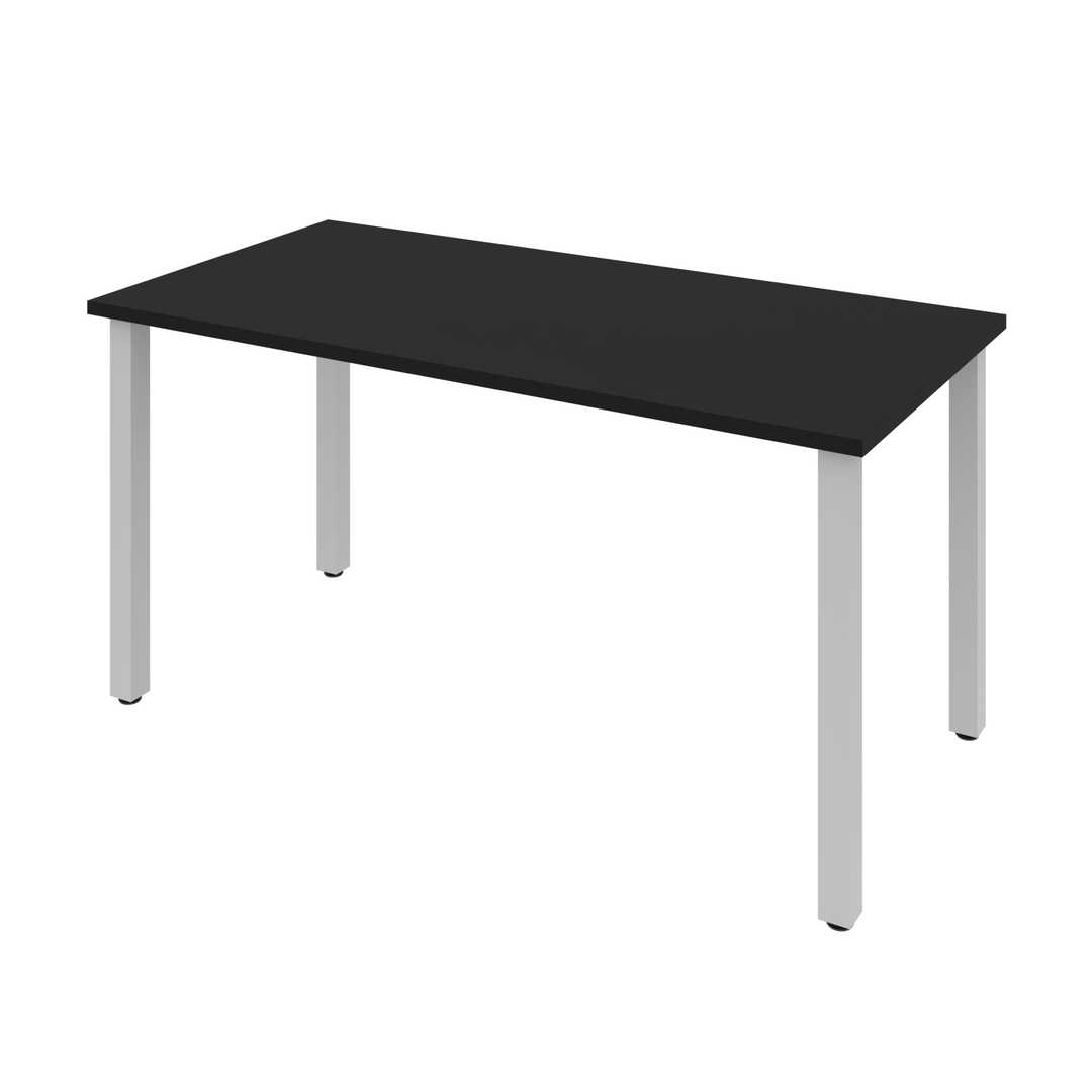 60W Table Desk with Square Metal Legs